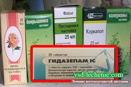 Таблетки от панических атак и страха
