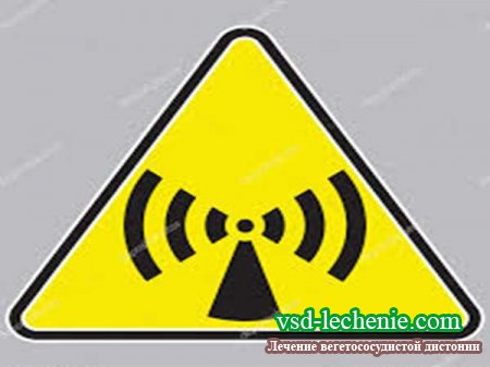 Электромагнитное излучение. Причина ВСД?